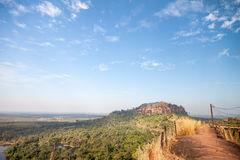 Beautiful landscape of mountain with blue sky, Thailand Royalty Free Stock Photos