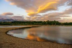 Beautiful landscape of mountain lake. Tatry. Slovakia.  stock images