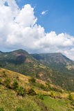 Beautiful landscape on mountain with nice sky Stock Image