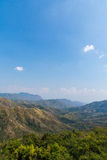 Beautiful landscape on mountain with nice sky Royalty Free Stock Images