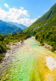 Beautiful landscape of mountain and river Stock Photos