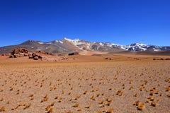 Beautiful landscape and mountains, Atacama desert, Chile Stock Images