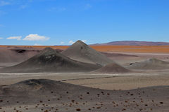 Beautiful landscape and mountains, Atacama desert, Chile Stock Photos