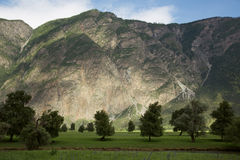 Beautiful Landscape. Mountains And Green Valley Royalty Free Stock Photos