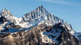 Beautiful landscape mountains in Matterhorn, Zermatt, Switzerlan Royalty Free Stock Images