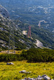 Beautiful landscape of mountains on summertime in Austria, Europe Royalty Free Stock Photo