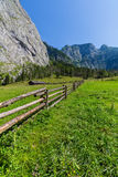 Beautiful landscape of mountains on summertime in Austria, Europe Stock Image