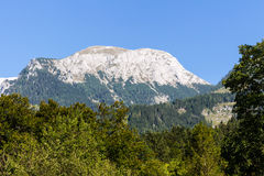 Beautiful landscape of mountains on summertime in Austria, Europe Royalty Free Stock Images