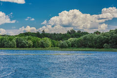 A beautiful landscape of the nature Stock Photo