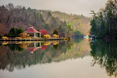 Beautiful landscape near lake lure north carolina Royalty Free Stock Photos