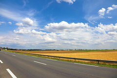 Beautiful landscape near road. Stock Photography