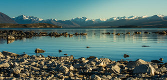 Beautiful landscape New Zealand. Royalty Free Stock Image
