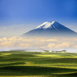 Beautiful landscape with nice background color Stock Photo