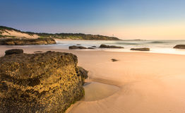 Beautiful Landscape from Norah head, NSW Stock Images