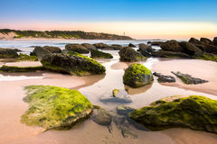 Beautiful Landscape from Norah head, NSW Stock Image