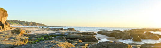 Beautiful Landscape from Norah head, NSW Stock Photos