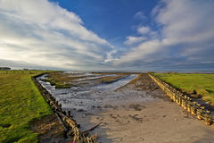 Beautiful landscape of North sea!! Royalty Free Stock Images