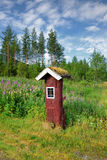 Beautiful landscape of Norway,  mailbox, Scandinavia. Stock Photo
