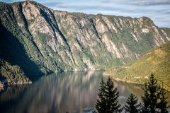Beautiful landscape of Norway, Scandinavia Royalty Free Stock Photo