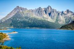Beautiful landscape of Norway, Scandinavia Royalty Free Stock Photo