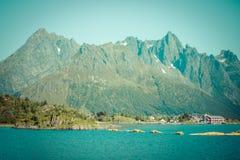 Beautiful landscape of Norway, Scandinavia Stock Image