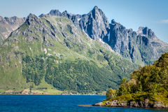 Beautiful landscape of Norway, Scandinavia Royalty Free Stock Photography
