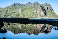 Beautiful landscape of Norway, Scandinavia Stock Photos