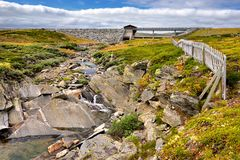 Beautiful landscape of Norway, Scandinavia Royalty Free Stock Images