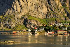 Beautiful landscape of Norway, Scandinavia Royalty Free Stock Photos