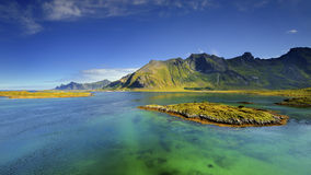 Beautiful landscape of Norway, Scandinavia Stock Photos