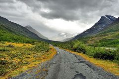 Beautiful landscape of Norway, Scandinavia Stock Photography
