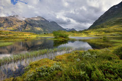 Beautiful landscape of Norway, Scandinavia, Royalty Free Stock Photography