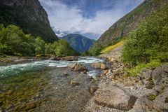 Beautiful landscape of Norway, Scandinavia, Europe Royalty Free Stock Photography
