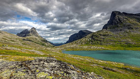 Beautiful landscape of Norway, Scandinavia, Europe Royalty Free Stock Photos