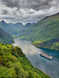 Beautiful landscape of Norway, Scandinavia Royalty Free Stock Image