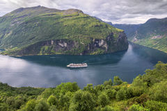 Beautiful landscape of Norway, Scandinavia, Geiranger Fiord Stock Photography