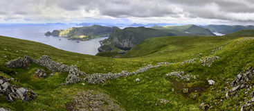 Beautiful landscape of Norway, Scandinavia, nature Stock Photo