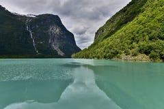 Beautiful landscape of Norway, Scandinavia, nature Stock Photography
