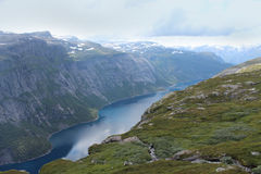 Beautiful landscape of Norway. Royalty Free Stock Images