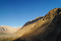 Beautiful landscape of Nubra Valley in Ladakh, India Royalty Free Stock Photography