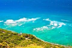 Beautiful Landscape of Oahu,Hawaii Stock Image