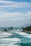 Beautiful landscape of the ocean of New Zealand Stock Photography