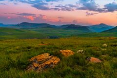 Free Beautiful Landscape Of South Africa South Africa Region Of The Dragon Mountains. Royalty Free Stock Image - 176714766