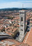 Renaissance bell tower of Duomo, Florence, Italy Royalty Free Stock Photography