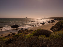 Beautiful landscape of pacific coastline, Big Sur. On Highway 1, CA, USA Royalty Free Stock Image