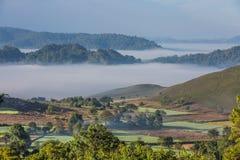Landscape panorama Kalaw Shan state Myanmar Royalty Free Stock Image