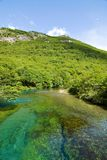 Beautiful landscape in patagonia. Lago del Desierto, Parque Nacional Los Glaciares Stock Photography
