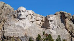 Mount Rushmore Monument stock images