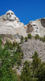 Mount Rushmore Monument stock photo