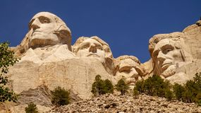 Mount Rushmore Monument stock image